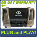 Lexus RX350 Navigation GPS Back-up Camera Display Screen