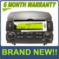 Brand New HYUNDAI Sonata INFINITY Radio Stereo 6 Disc Changer MP3 CD Player XM Satellite Ready OEM 2006 2007 2008 Dark Grey