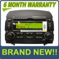 Brand New HYUNDAI Sonata XM Satellite Radio Stereo 6 Disc Changer CD MP3 Player OEM 2006 2007 2008
