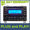 07 08 Hyundai ELANTRA Radio XM Satellite MP3 CD Player Black 96160-2H1519K