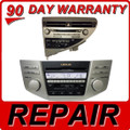 REPAIR Your 1999 - 2009 6 Disc Changer CD Player Radio LEXUS RX300 RX330 RX350 RX400h RX450h NEW CD MECHANISM