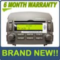Brand New 06 07 08 Hyundai Sonata OEM Radio 6 Disc MP3 CD Player 96190-0A100QZ GREY