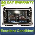 2013 2014 Toyota Venza Navigation GPS JBL Radio AM FM MP3 CD player Bluetooth stereo E7038