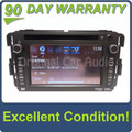 2012 2013 Chevrolet GMC OEM Navigation GPS Radio AM FM XM Stereo AUX RDS USB DVD CD Player