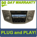 2006 - 2009 Lexus RX400H RX330 RX350 Radio 6 CD Player MARK LEVINSON 86120-48A30, 86120-48C50, P1502 , AP1506