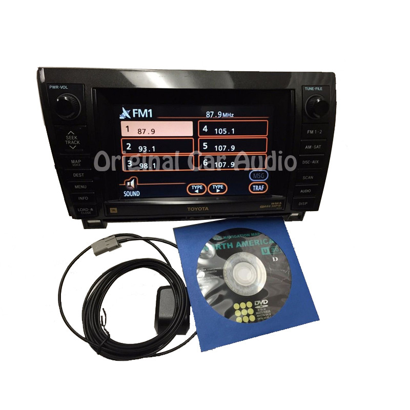 100 Toyota Sequoia Hd Wallpapers: TOYOTA Tundra Sequoia JBL Navigation GPS Radio MP3 CD