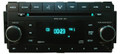 Chrysler Jeep Dodge Radio AUX MP3 CD Player 2008 2009 2010 2011 2012 2013