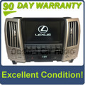 Lexus RX350 navigation back-up camera display screen OEM