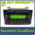 Hyundai radio 6 CD MP3 player w/out rear entertainment OEM