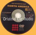 Toyota Lexus Navigation Map DVD 86271-48242 DATA Ver. 12.1 U27