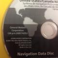 GM Satellite Navigation System CD 20857425U Version 4.10C