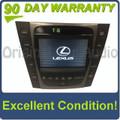 2007 Lexus GS450H Navigation GPS CD Radio Display Information Screen OEM Climate Control