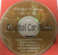 Ford Lincoln Mercury Navigation System GPS DVD Drive Disc 8L2T-10E989-AF Map Release 6P