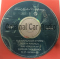 Ford Lincoln Mercury Navigation System GPS DVD Drive Disc 7L2T-10E989-BB Map Release 4P