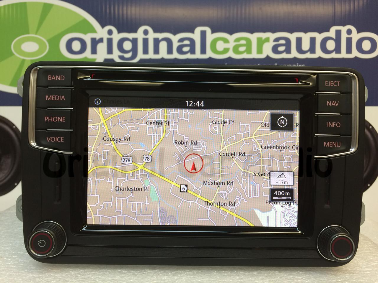 2016 volkswagen oem navigation sat bluetooth hd radio. Black Bedroom Furniture Sets. Home Design Ideas