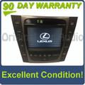 2007 2008 Lexus GS450 Hybrid Navigation Screen 86111-30550