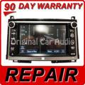 REPAIR SERVICE 2012 2013 2014 Toyota Venza OEM CD Navigation REPAIR