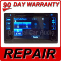 REPAIR SERVICE ONLY 2015 Toyota SIENNA OEM Touch Screen CD Player Stereo Non-Nav