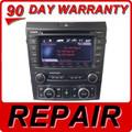 REPAIR SERVICE Pontiac Radio 6 Disc CD Changer TouchScreen BLAUPUNKT XM aux