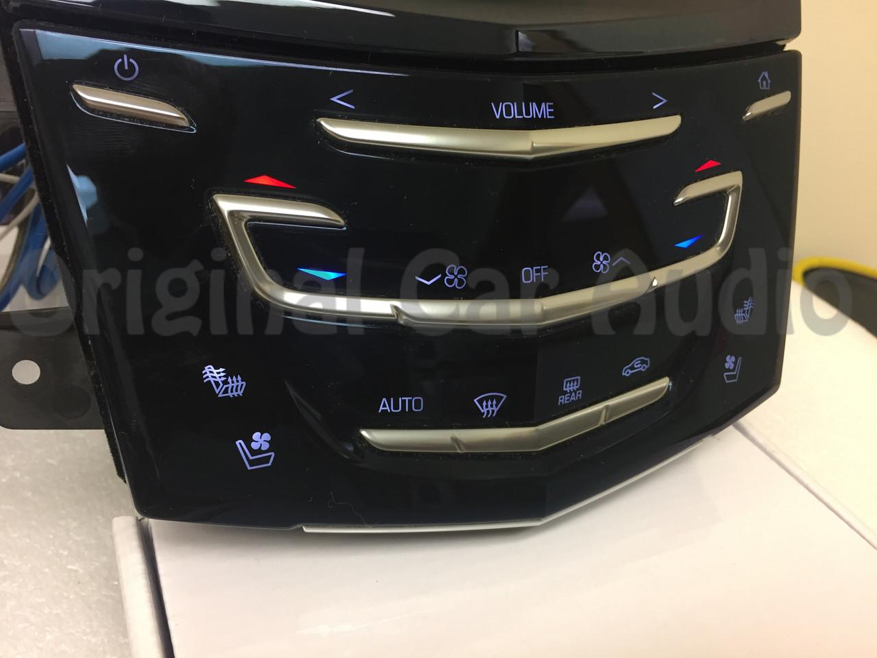 Used 2015 Cadillac Escalade >> 13-16 Cadillac ATS CTS XTS CUE Nav Touch Screen Control