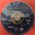 Jeep Commander Grand Cherokee Liberty OEM Navigation Map DVD 05064033AI