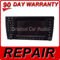 REPAIR 2006 - 2008 PORSCHE Caynne PCM 2.1 Navigation Touch Screen Radio CD REPAIR