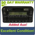 1998 - 2002 Lexus GX470 OEM Radio ONLY Added Aux 16822