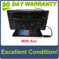 1998 - 2005 Ford Lincoln Mercury OEM Single CD  AM FM Radio WITH ADDED AUX