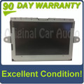 2007 - 2009 Jaguar XF XJ XK XKR OEM Navigation Display Screen Monitor