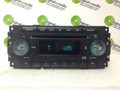 04-08 Chrysler Jeep Dodge Radio and  CD Player w/ NO KNOBS