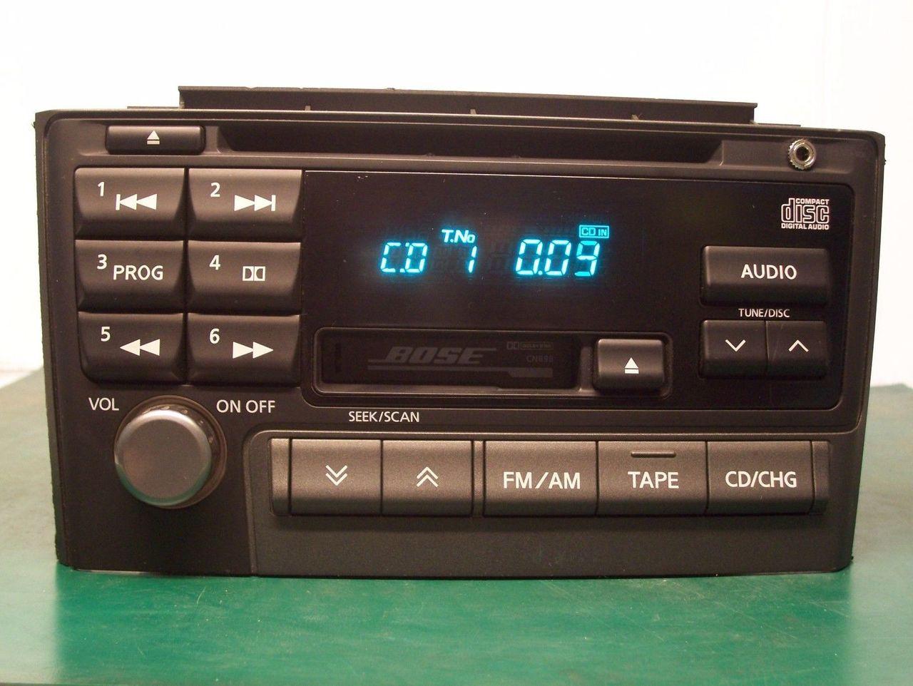 Metra Dash Kit for Select 2000-2003 Nissan Maxima w/ Bose ...  |2000 Nissan Maxima Radio Replacement