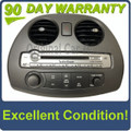 2006 - 2008 Mitsubishi Eclipse OEM Rockford Fosgate 6 CD Radio Control Panel BEZEL ONLY