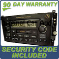 Acura CL Radio Tape and 6 Disc CD Changer 39101-S3M-A110-M1, 39101-S3M-A130-M1 01 02 03 2001 2002 2003
