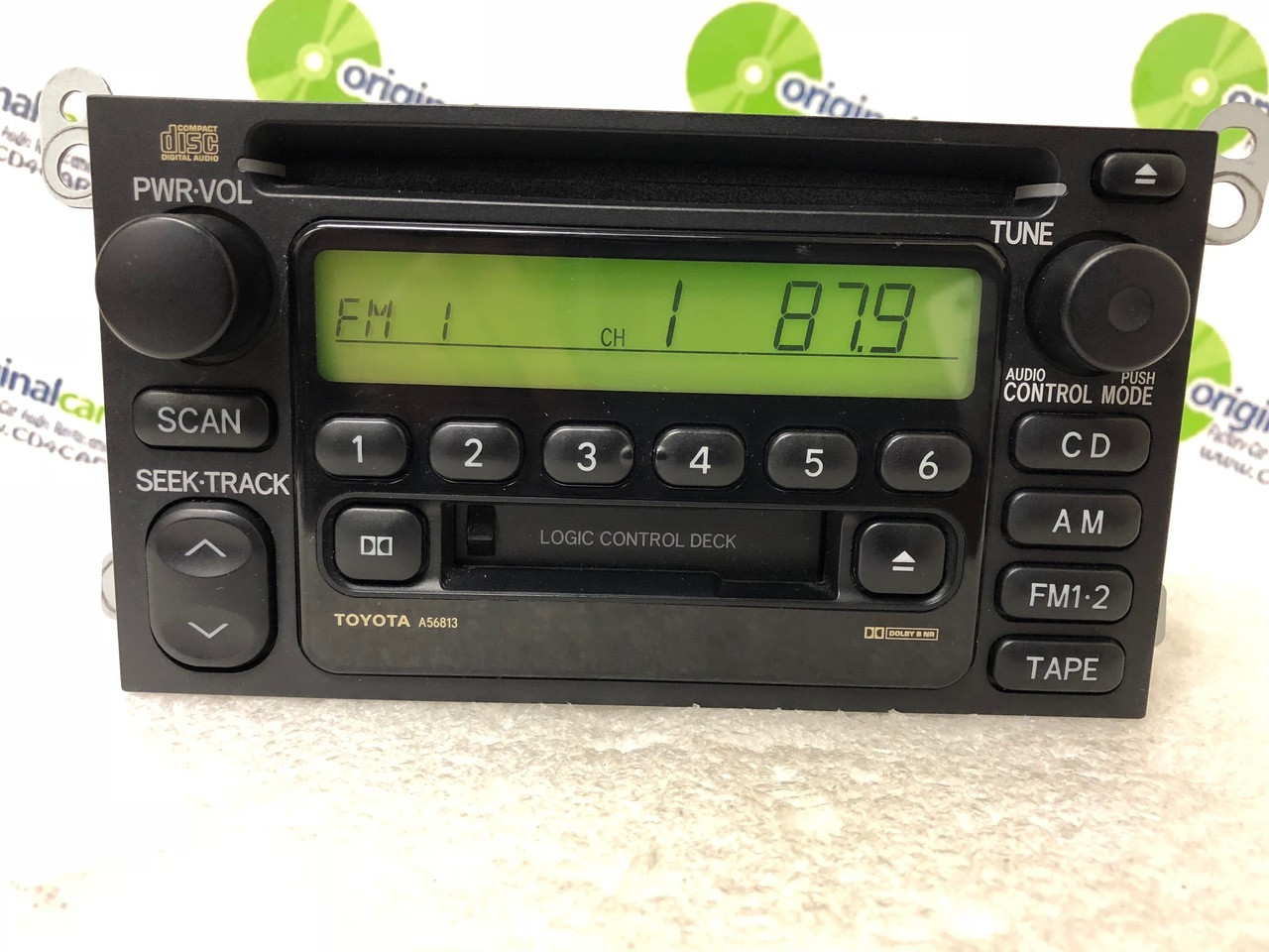 A56813 1990 2002 Toyota Camry Celica Radio Tape CD Player