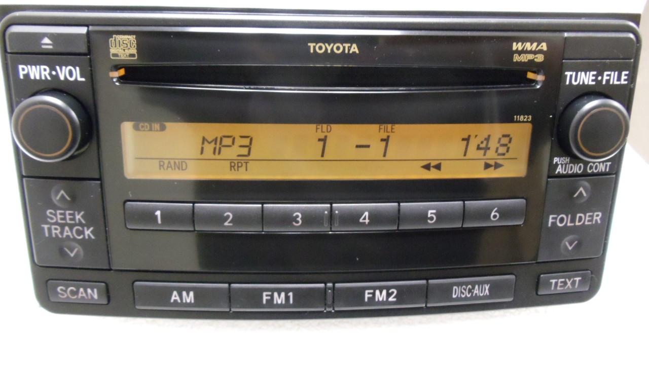 11823 4runner celica yaris echo fj radio mp3 cd player. Black Bedroom Furniture Sets. Home Design Ideas