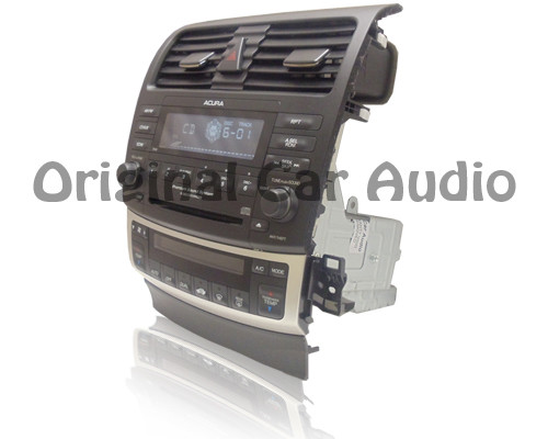 2004 acura tsx am fm radio stereo 6 disc changer cd player
