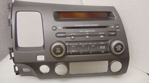 4pca 2006 2007 2008 honda civic radio cd player mp3 player. Black Bedroom Furniture Sets. Home Design Ideas