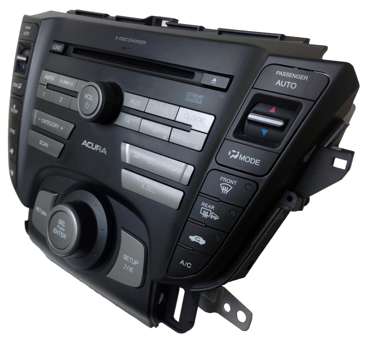 09 2010 2011 ACURA TL Radio Stereo 6 Disc Changer MP3 CD