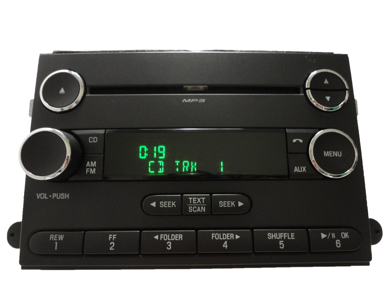 08 09 ford fusion mercury milan am fm radio stereo mp3 cd. Black Bedroom Furniture Sets. Home Design Ideas