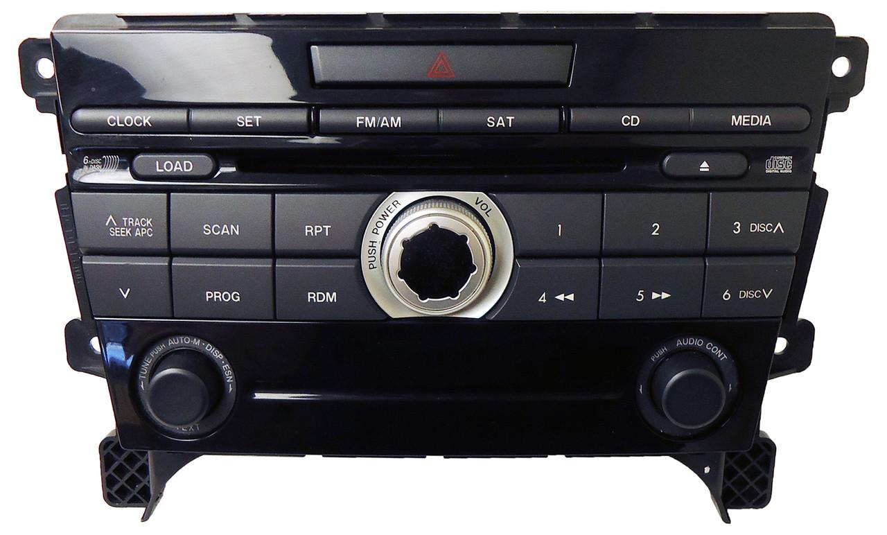 07 08 09 mazda cx 7 radio bose 6 disc cd changer player eg24 eg27 66 arx ebay. Black Bedroom Furniture Sets. Home Design Ideas