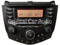 2003 2004 2005 2006 2007 Honda Accord Radio and CD Player 2AX0 03 04 05 06 07