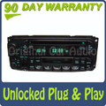 02-05 Chrysler Jeep Dodge Radio  Cassette and CD Player RAZ RBP RBU