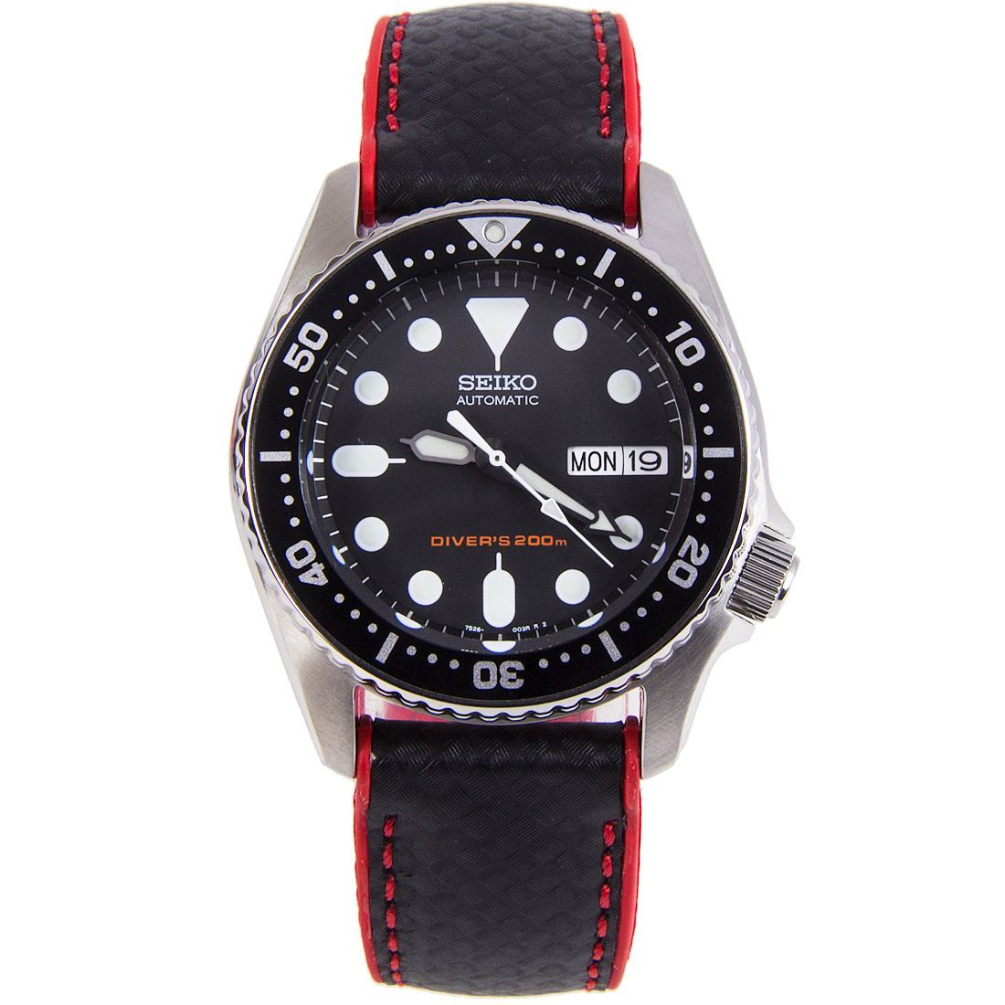 SKX013K1 Seiko Divers Automatic Watch with Hybrid Strap