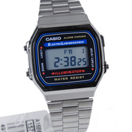Casio retro Watch A168WA-1WDF