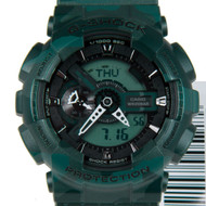 GA-110CM-3A Casio G-Shock Green Camouflage Sports Watch