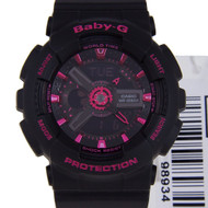 Baby-G Black LED Light Watches