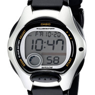 Casio Quartz Dual Time Ladies Digital Sports Watch LW-200-1AVDF LW200