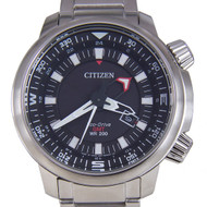 Citizen Promaster Eco-Drive GMT Mens Pilots Watch BJ7081-51E