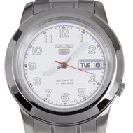 Seiko 5 Automatic White Dial Watch SNKK33 SNKK33K1