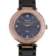 2323LHBRGMA  Alexandre Christie Passion Diamond Ladies Watch